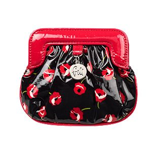 Vera Bradley Charmed Pouch in Poppy Fields